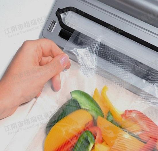 厂家直供真空压花密封袋食品袋