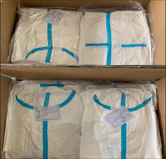 九层PE尼龙共挤膜真空袋 口罩防护服透明塑料服装袋