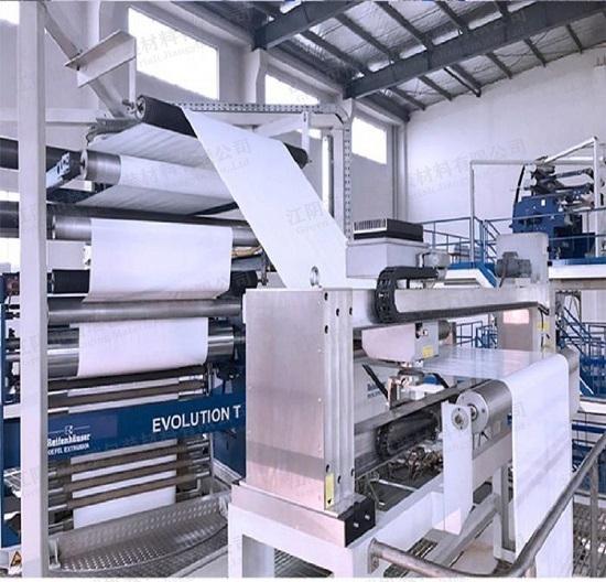 工业包装膜7层9层共挤黑白膜