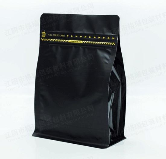 印刷塑料平底站立袋